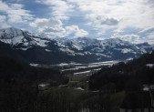Séjour dans les montagnes suisses…(mars 2013)