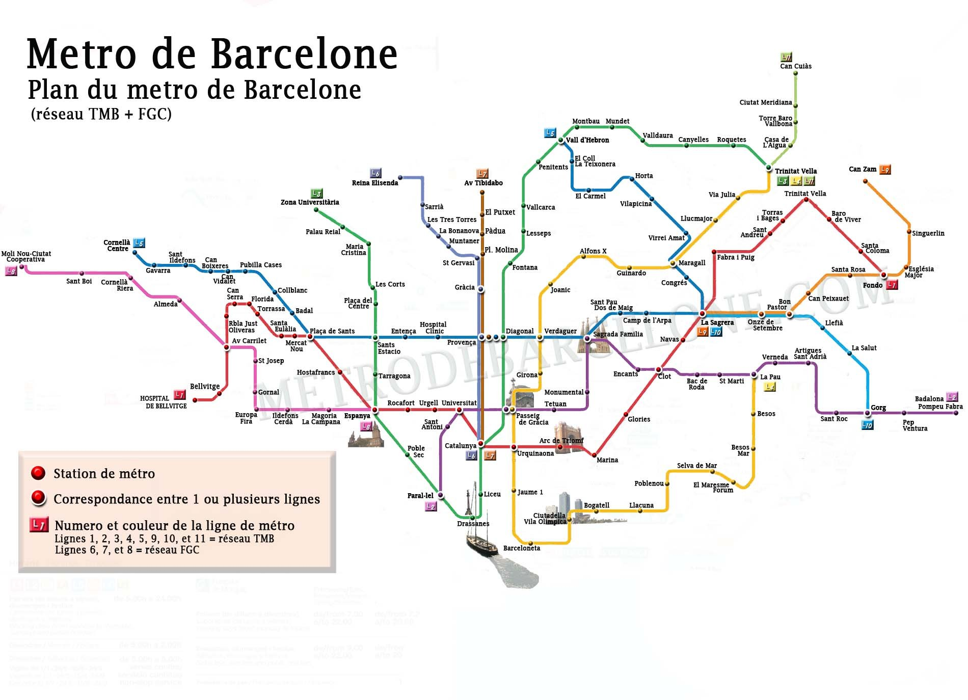 Favori plan-metro-barcelone | Une envie d'ailleurs CP06